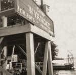 Waterfront sign, Dock, and Sailing box (1965)
