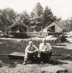 Tom Falcon & BMB on Jr Camp OD platform (1965)
