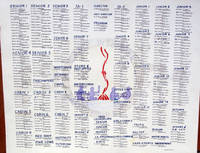 Highlight for Album: The Dining Hall Rosters 1909 - 1974
